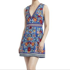 Alice + Olivia Patty Embroidered Mini Dress 2